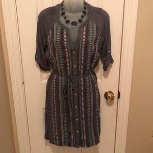Tiny Anthropologie shift dress